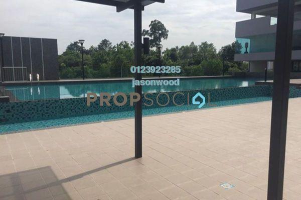 For Sale Condominium at Emerald Residence, Bandar Mahkota Cheras Freehold Semi Furnished 3R/2B 520k