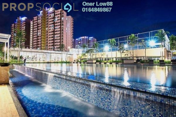 For Sale Condominium at Imperial Residences, Sungai Ara Freehold Semi Furnished 3R/2B 660k