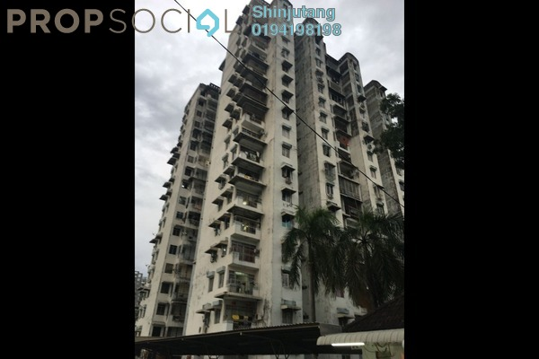 For Sale Condominium at Relau Indah, Relau Freehold Unfurnished 3R/2B 350k