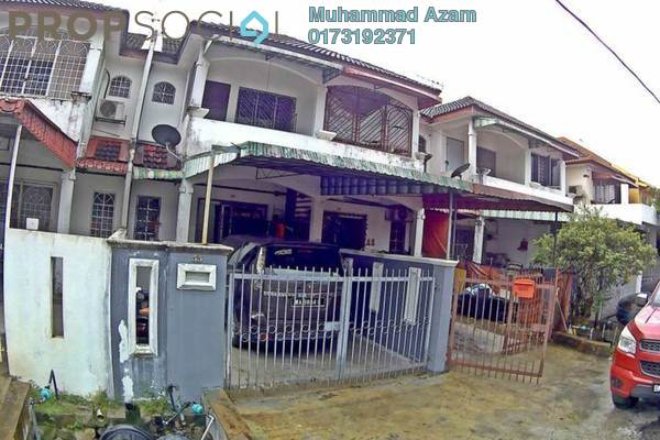 For Rent Terrace at Taman Sri Gombak, Batu Caves Freehold Unfurnished 3R/2B 1.3k