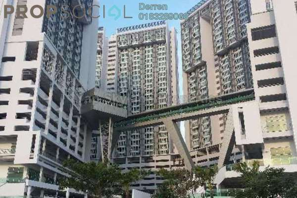 For Rent Condominium at Garden Plaza @ Garden Residence, Cyberjaya Freehold Fully Furnished 3R/2B 1k