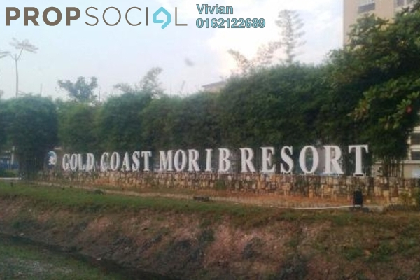 For Sale Serviced Residence at Gold Coast Morib Resort, Banting Leasehold Fully Furnished 1R/1B 130k