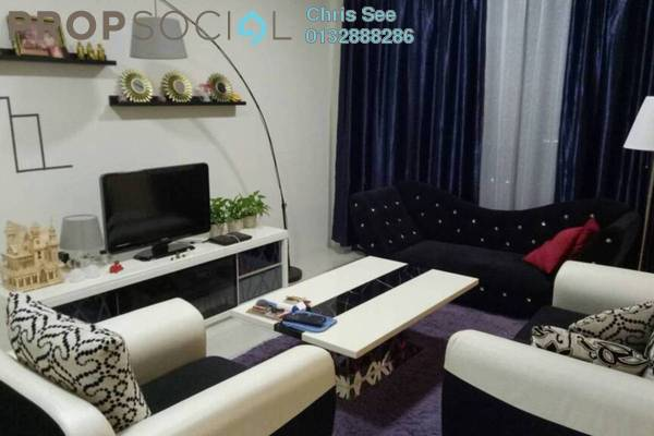 For Rent Condominium at Putra One, Bukit Rahman Putra Freehold Fully Furnished 3R/2B 2k