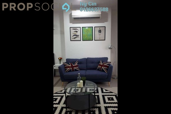 For Rent Serviced Residence at Arcoris, Mont Kiara Freehold Fully Furnished 1R/1B 2.6k