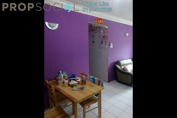 For Rent Apartment at Kinrara Ria, Bandar Kinrara Freehold Semi Furnished 3R/2B 1.2k