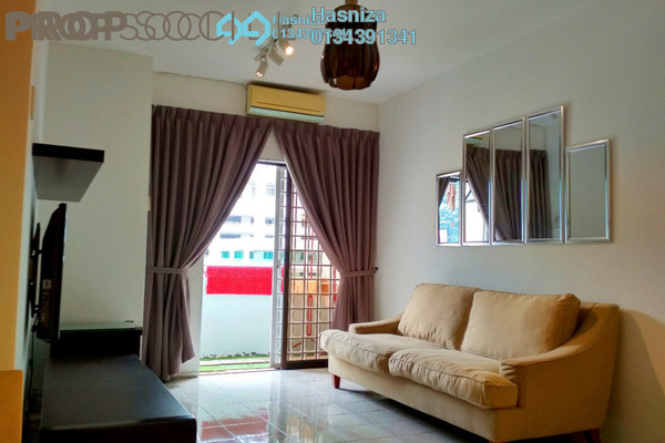 For Sale Condominium at Bougainvilla, Segambut Freehold Fully Furnished 3R/2B 430k
