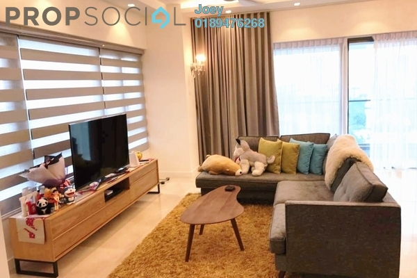 For Rent Condominium at The Sentral Residences, KL Sentral Freehold Fully Furnished 3R/3B 9k
