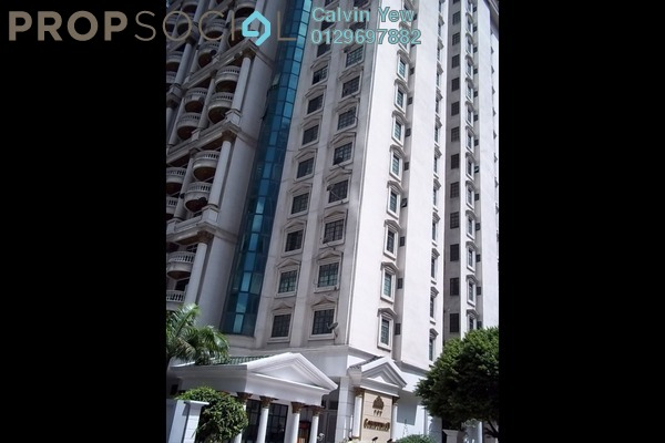 For Rent Condominium at The Troika, KLCC Freehold Fully Furnished 1R/2B 7k