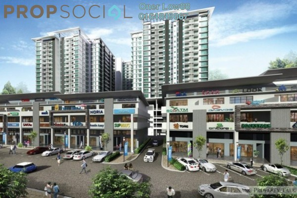 For Rent Serviced Residence at The Promenade @ Garden Residence, Cyberjaya Freehold Unfurnished 4R/3B 1.8k