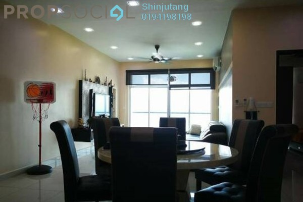 For Rent Condominium at Meridien Residence, Sungai Ara Freehold Fully Furnished 3R/2B 1.8k
