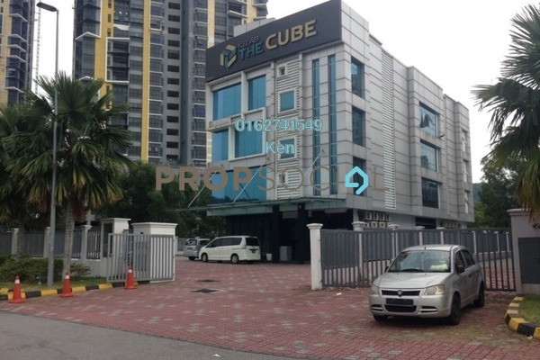 For Sale Shop at The Cube, Bandar Puteri Puchong Freehold Semi Furnished 0R/0B 14.8m