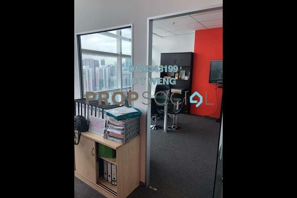 For Rent Office at Q Sentral, KL Sentral Freehold Fully Furnished 0R/2B 11k