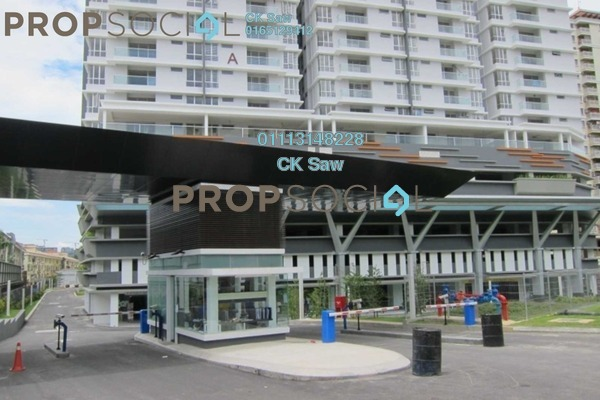 For Rent Condominium at Platinum Hill PV2, Setapak Freehold Semi Furnished 4R/2B 1.7k
