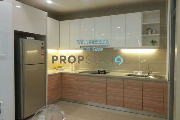 For Rent Condominium at V-Residensi 2, Shah Alam Freehold Fully Furnished 2R/2B 1.5k