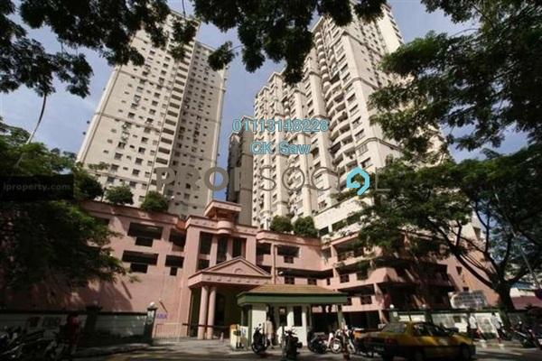 For Rent Condominium at Kenanga Point, Pudu Freehold Fully Furnished 3R/2B 2k