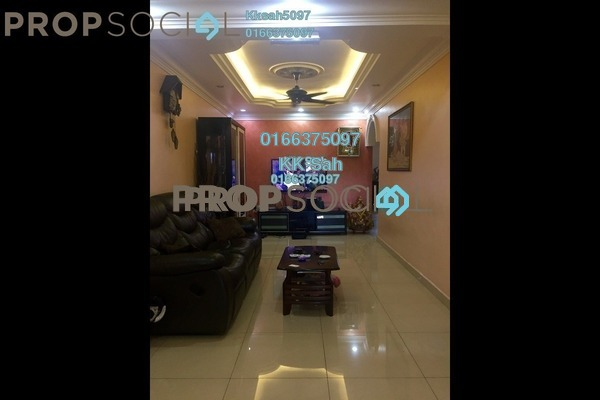 For Sale Link at Taman Sentosa, Klang Freehold Semi Furnished 3R/3B 328k