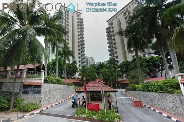 For Rent Condominium at Danau Permai, Taman Desa Freehold Semi Furnished 3R/2B 2k