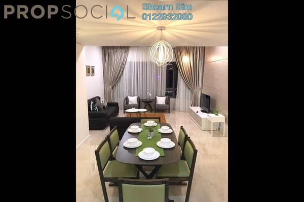 For Rent Condominium at The Sentral Residences, KL Sentral Freehold Fully Furnished 4R/4B 7.5k