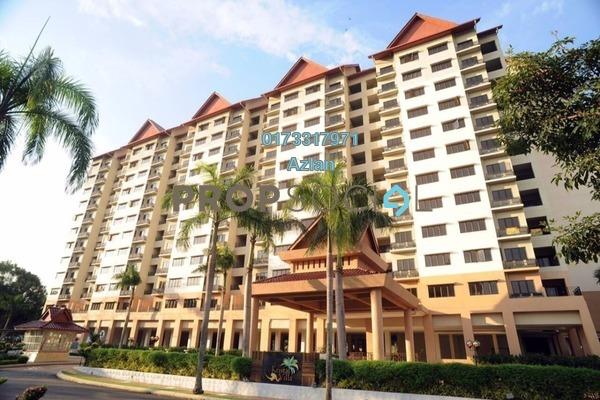 For Sale Condominium at Kristal Villa, Kajang Freehold Unfurnished 3R/2B 350k