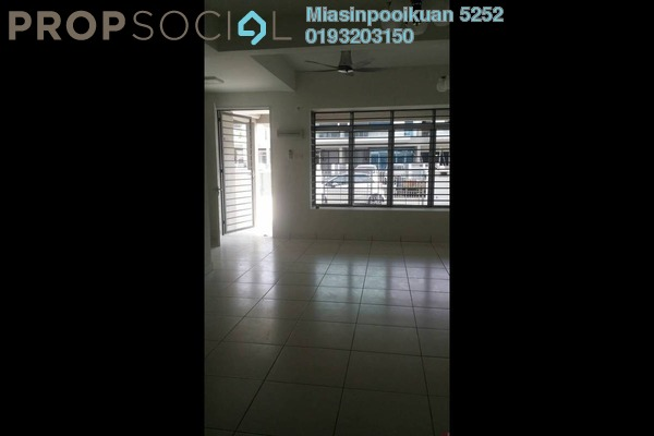 For Rent Apartment at Camellia Residences, Bandar Sungai Long Freehold Semi Furnished 4R/3B 1.9k