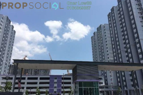 For Sale Apartment at Idaman Lavender, Sungai Ara Freehold Unfurnished 3R/2B 330k