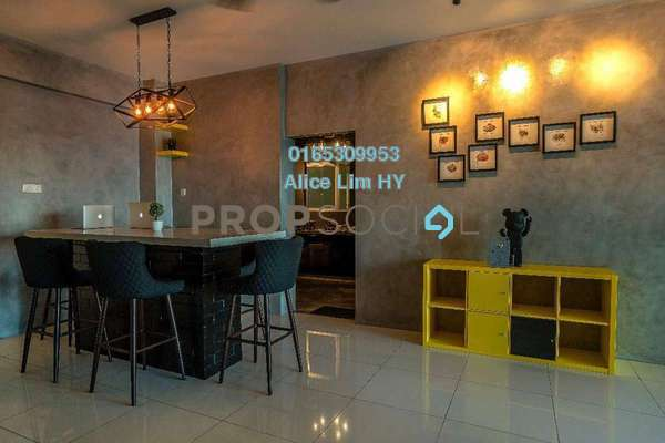 For Rent Condominium at The Latitude, Tanjung Tokong Freehold Fully Furnished 3R/4B 2.8k