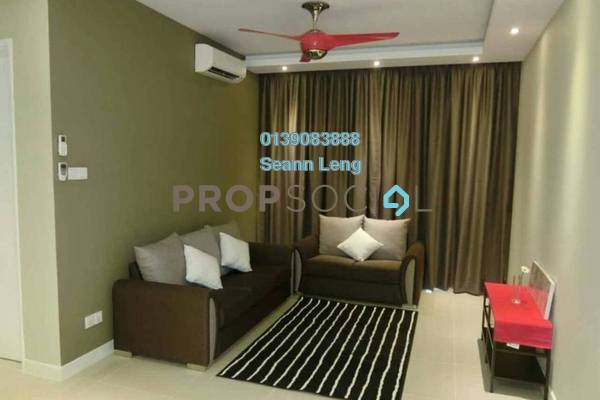 For Rent Condominium at Scenaria, Segambut Freehold Fully Furnished 3R/2B 2.45k