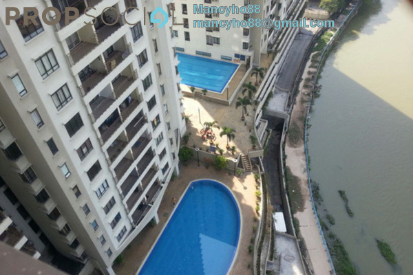 For Sale Condominium at Rivercity, Sentul Freehold Fully Furnished 3R/2B 510k