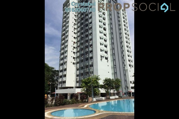 For Rent Condominium at Menara Seputih, Seputeh Freehold Fully Furnished 1R/1B 1.3k