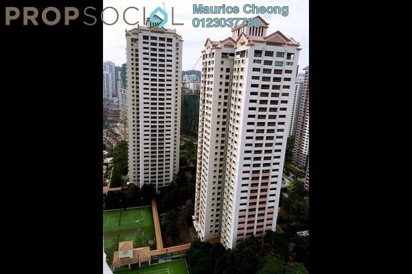 For Rent Condominium at i-Zen Kiara I, Mont Kiara Freehold Fully Furnished 2R/2B 3.6k