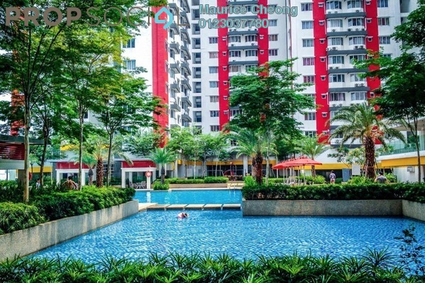 For Rent Condominium at Main Place Residence, UEP Subang Jaya Freehold Unfurnished 2R/1B 1.3k