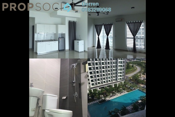 For Rent Condominium at CyberSquare, Cyberjaya Freehold Fully Furnished 1R/1B 1k