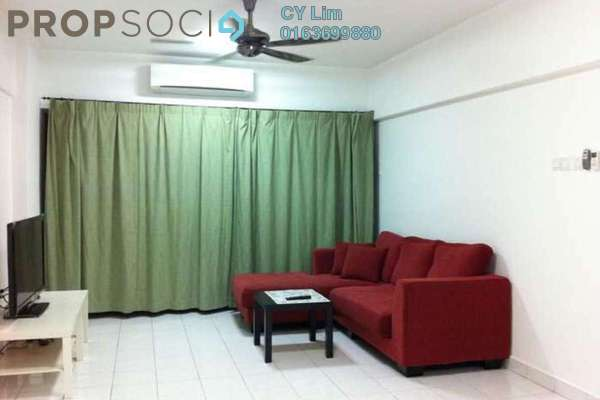 For Rent Apartment at Anjung Hijau, Bukit Jalil Freehold Fully Furnished 2R/2B 1.5k