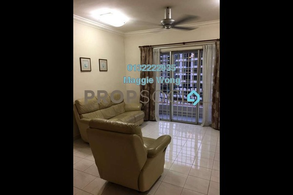 For Rent Condominium at Puncak Seri Kelana, Ara Damansara Freehold Fully Furnished 3R/2B 1.8k