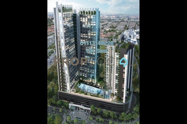 For Rent Condominium at D'Latour, Bandar Sunway Freehold Fully Furnished 2R/2B 2.6k