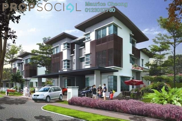 For Sale Semi-Detached at Jelutong Heights, Bukit Jelutong Freehold Semi Furnished 5R/6B 1.75m