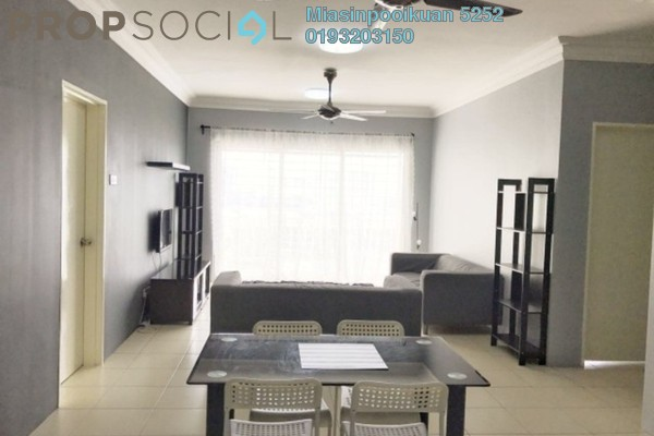 For Rent Condominium at Platinum Hill PV3, Setapak Freehold Fully Furnished 3R/2B 2.1k