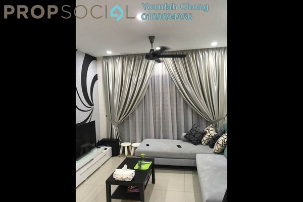 For Sale Condominium at Puri Tower, Puchong Freehold Fully Furnished 3R/2B 495k