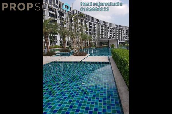 For Sale Condominium at Radia Residences, Bukit Jelutong Freehold Semi Furnished 3R/2B 800k