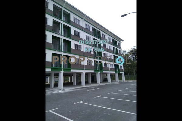 For Sale Apartment at Bandar Rinching, Semenyih Leasehold Fully Furnished 3R/2B 196k