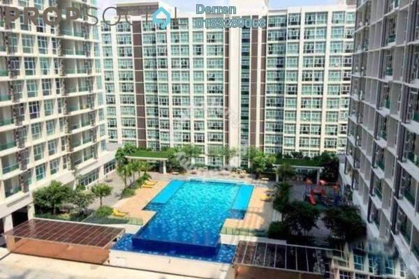 For Rent Condominium at Mutiara Ville, Cyberjaya Freehold Semi Furnished 3R/2B 1.3k