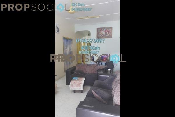 For Sale Terrace at Taman Klang Utama, Klang Freehold Semi Furnished 4R/2B 358k