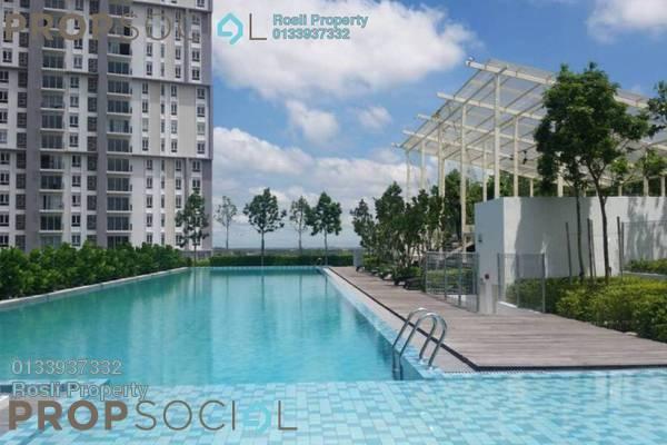 For Rent Condominium at Verdi Eco-dominiums, Cyberjaya Freehold Fully Furnished 2R/2B 3k