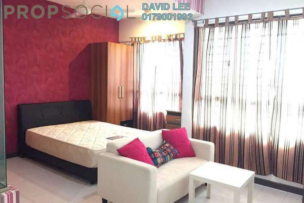 For Rent SoHo/Studio at Ritze Perdana 1, Damansara Perdana Freehold Fully Furnished 1R/1B 1.2k