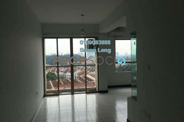 For Rent Condominium at Ritze Perdana 1, Damansara Perdana Freehold Unfurnished 1R/1B 1.1k