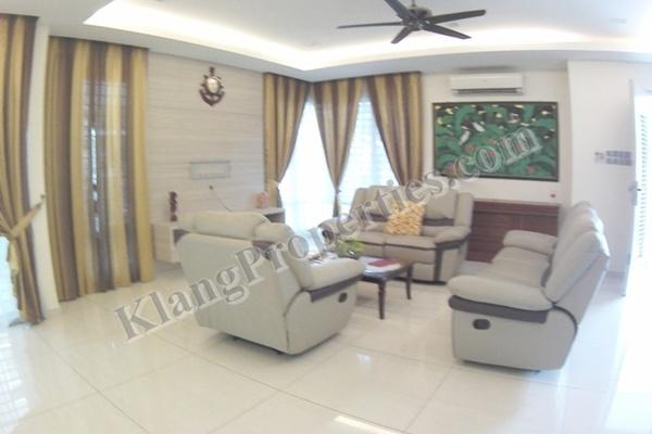For Sale Semi-Detached at Bandar Parklands, Klang Freehold Fully Furnished 5R/4B 1.58m