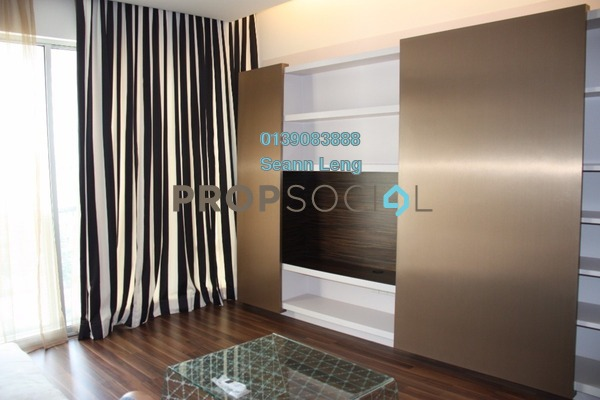 For Rent Condominium at VERVE Suites, Mont Kiara Freehold Fully Furnished 2R/2B 4.2k
