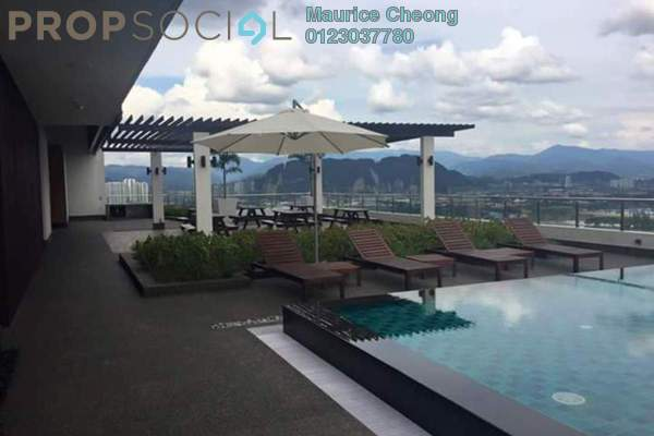 For Sale Condominium at Dex @ Kiara East, Jalan Ipoh Leasehold Fully Furnished 2R/1B 495k