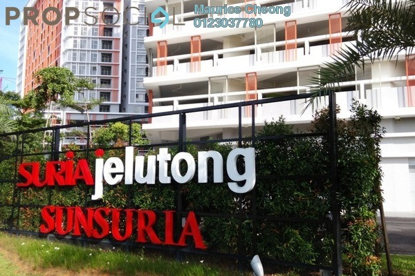 For Sale Condominium at Suria Jelutong, Bukit Jelutong Freehold Unfurnished 0R/1B 350k
