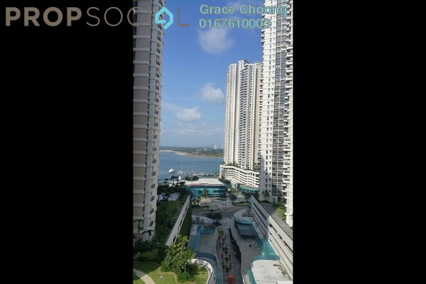 For Rent Condominium at Country Garden Danga Bay, Danga Bay Freehold Semi Furnished 2R/1B 1.6k